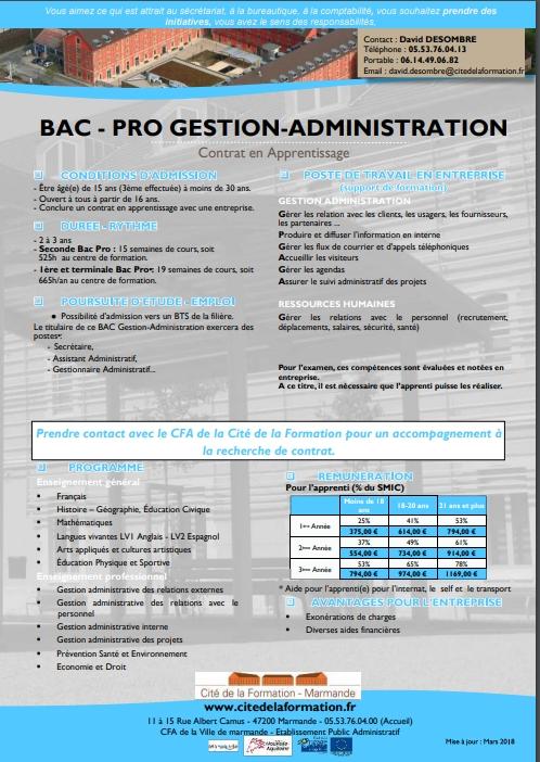 bac ga ficheformation