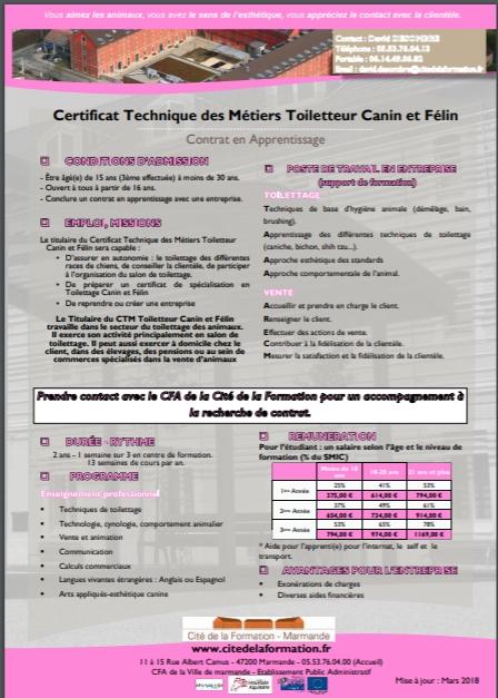 ctm ficheformation